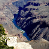 Colorado River at the Bottom of the Grand Canyon in AZ 2