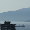 The view from my balcony out toward English Bay, at 210mm.  This shot has presented difficulties for my other long lenses (such as the Sony 18-200mm), which often present fuzzy pictures and washed-out colours at this length.