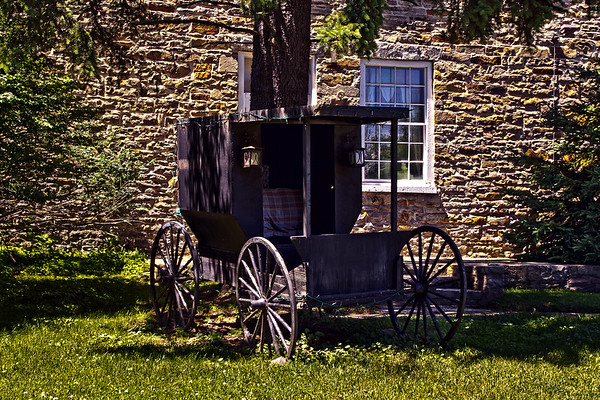 Amish buggy in Waterford, Penn.