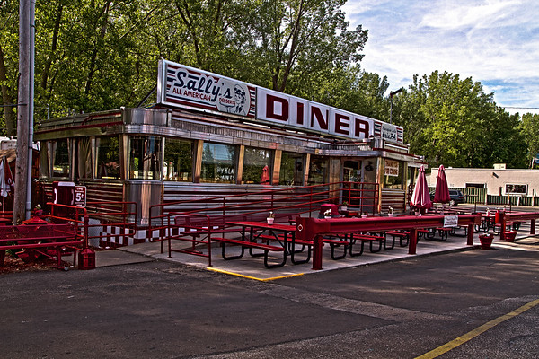Sally's Diner in Sara's Campground in Presque Isle, Penn.
