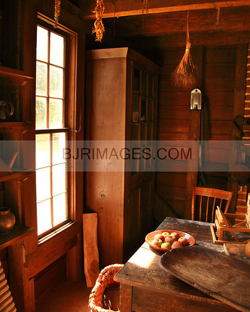 Kitchen Window in Latta Plantation, Huntsville, N.C.
