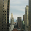 The Chrysler Building as seen from our room in the Millenium Hotel.