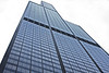 The Sears Tower.    For many years the tallest building on earth standing 1730 feet tall.