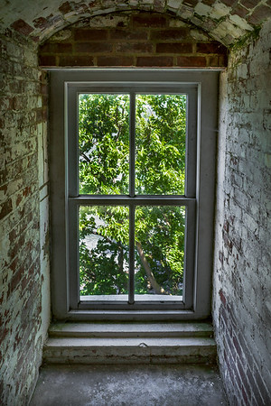 Marblehead Ohio Lighthouse Interior Window