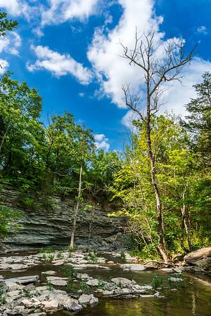 Caesar Creek State Park - Horseshoe Falls Bluff