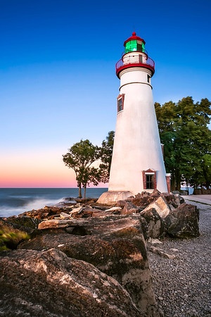 Marblehead Ohio Lighthouse - Sunset