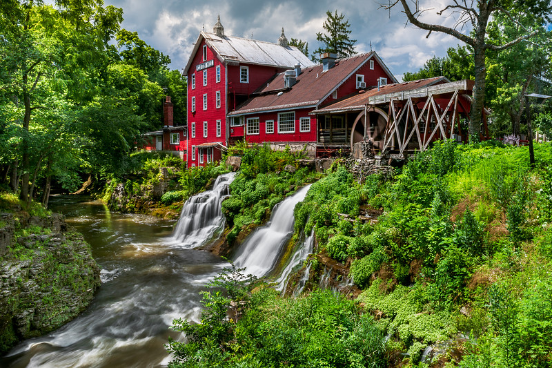 Historic Clifton Mill and Waterfalls
