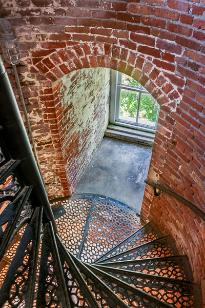 Marblehead Ohio Lighthouse Spiral Stairs & Window