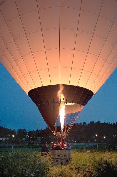 Ballon Landing -  Stockholm