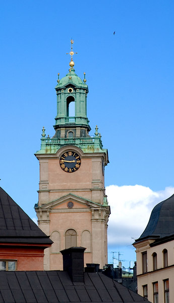 Church steeple Stockholm