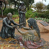 Came across this interesting bronze statue work at a park in downtown Fredericksburg. Next photo provides history.