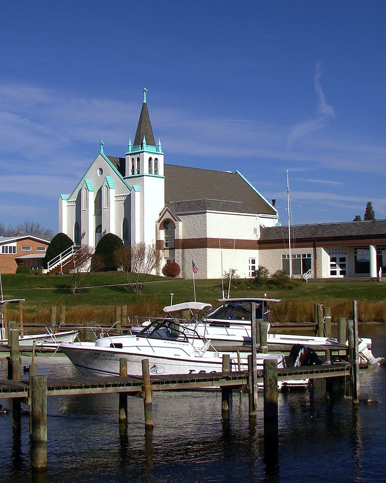 Our Lady Star of the Sea Church on Solomon's Island