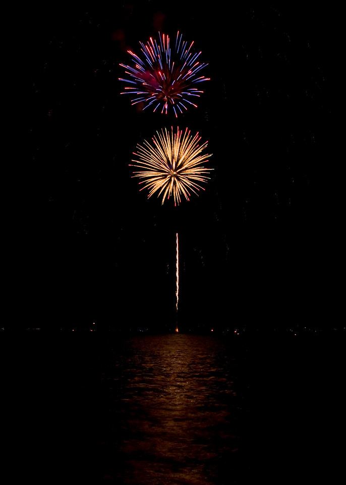 4th of July Fireworks on the Patuxent River - 2010