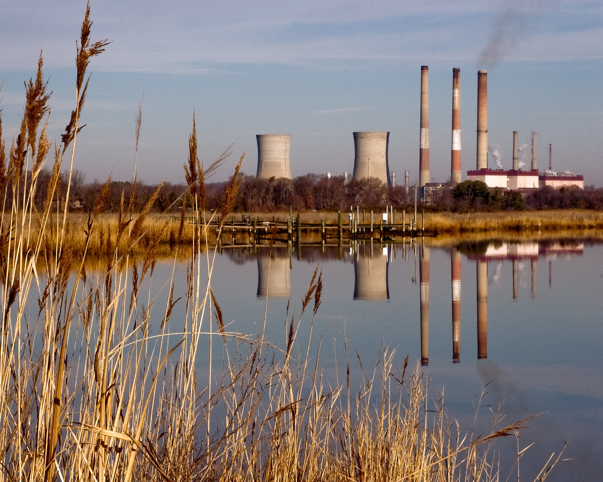 Power Plant on the Patuxent River