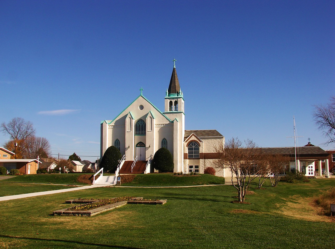 Our Lady Star of the Sea Church in Solomon's Maryland