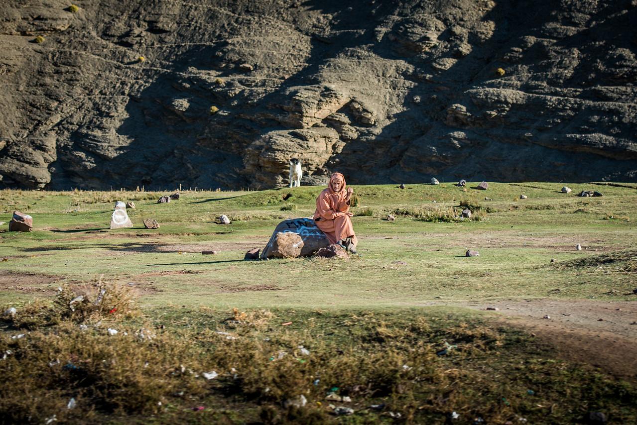 Shepherd in Morocco