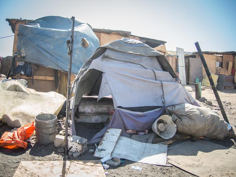 Tent City, Tijuana