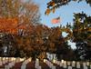 Leavenworth National Cemetery, fall 2005