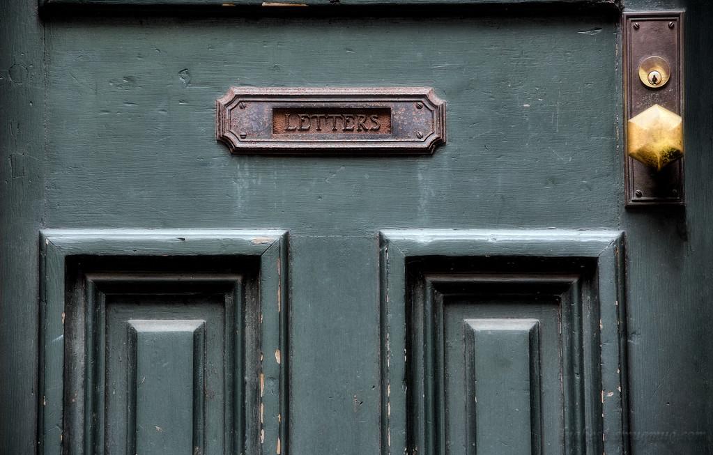 Cousin Kathy's door in OTR.