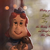 I've been wanting to come up with a card this year, but all I can think of is memories past, so ... this is Little LuLu, the comic strip character popular from the 1950's, though actually she was introduced in 1935 by Marjorie Henderson Buell.<br /> I've had a little figurine of her which I painted and glazed in ceramics when I was around 12, about 100 yrs ago :-)