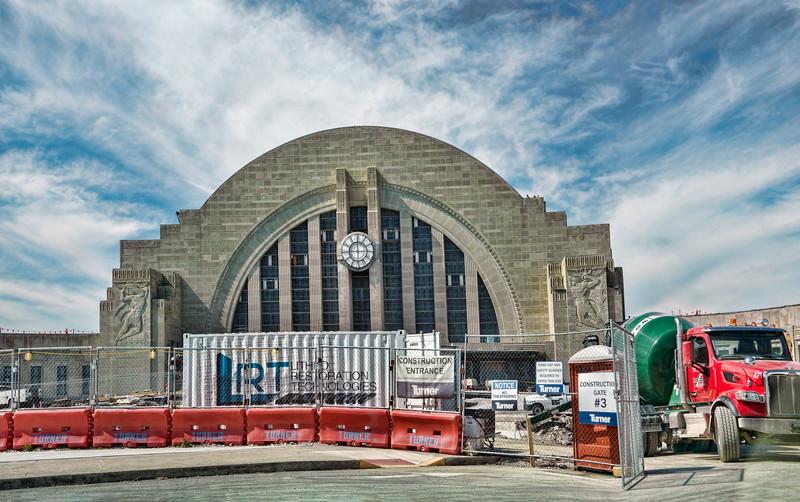 Cincinnati History Museum.  Union Terminal