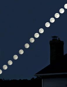 Super Moon-Full Moon