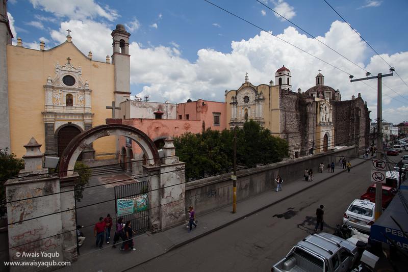 Church in Texcoco