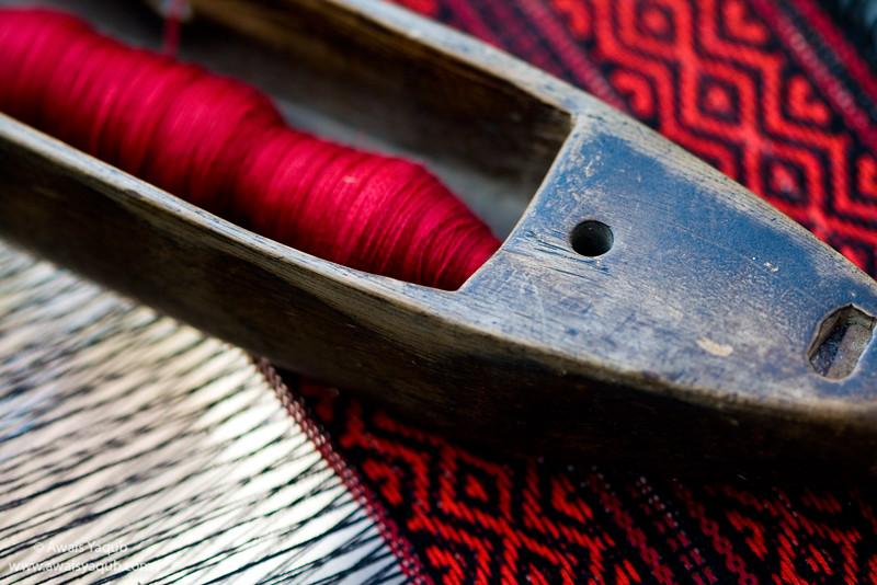 Handloom Tool and fabric