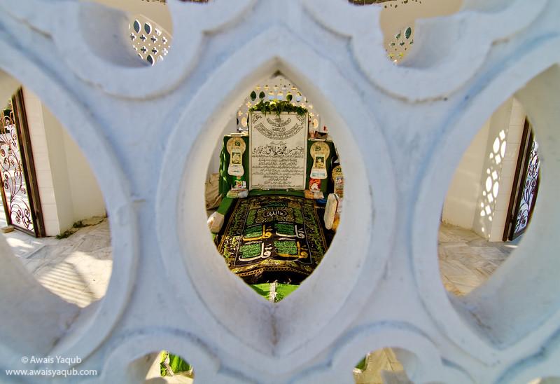 Grave of General Zia-ul-Haq