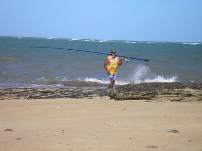 Fisherman in Natal