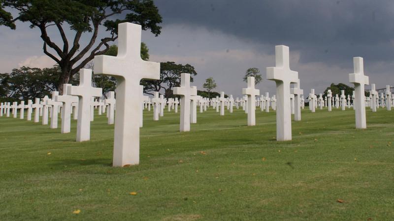 US WW2 Cemetery in Manila