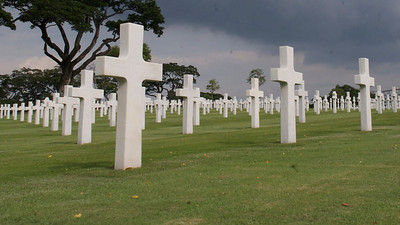 US WW2 Cemetery in Manila