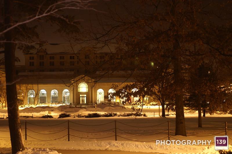 Iowa State at Night