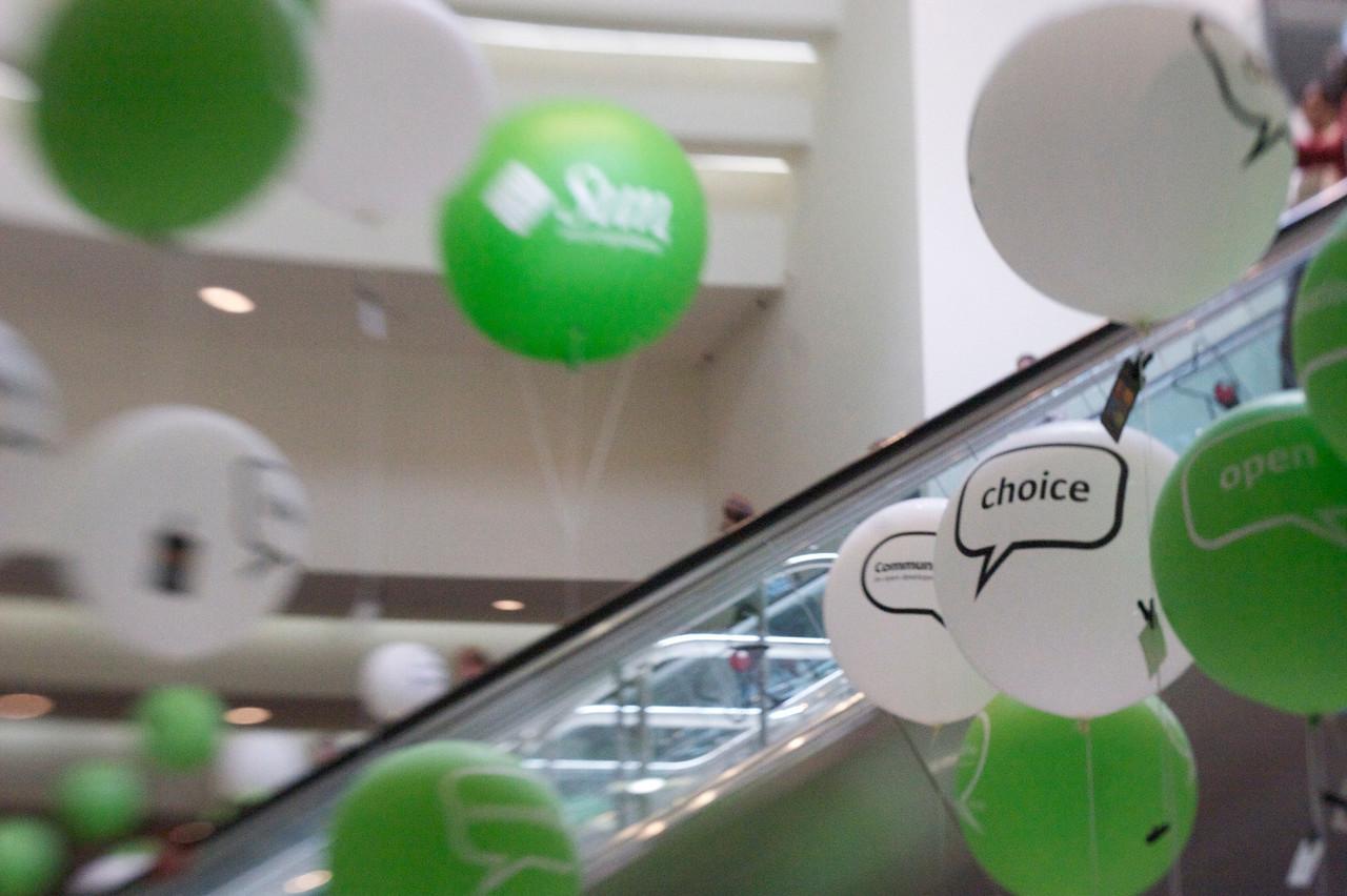 Balloons at JavaOne '09