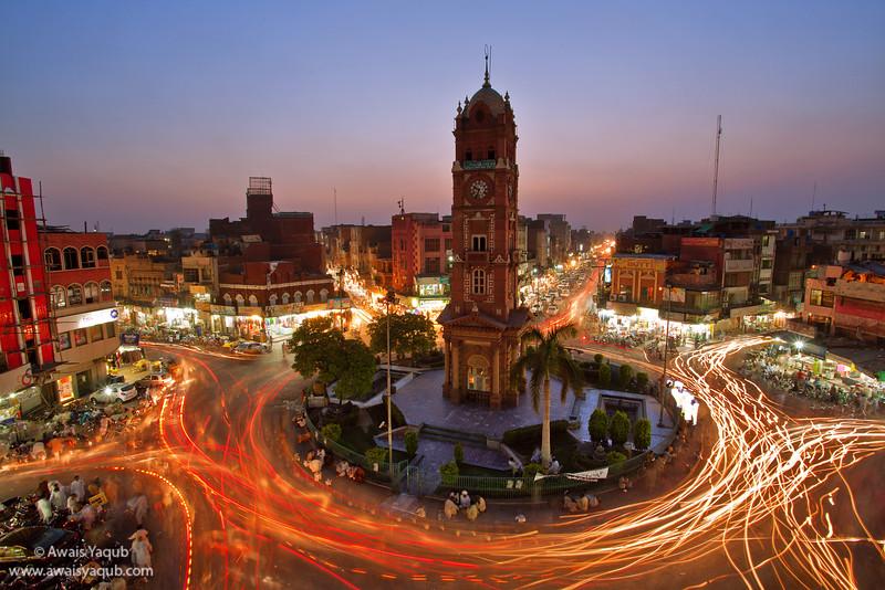 Faisalabad Clock Tower