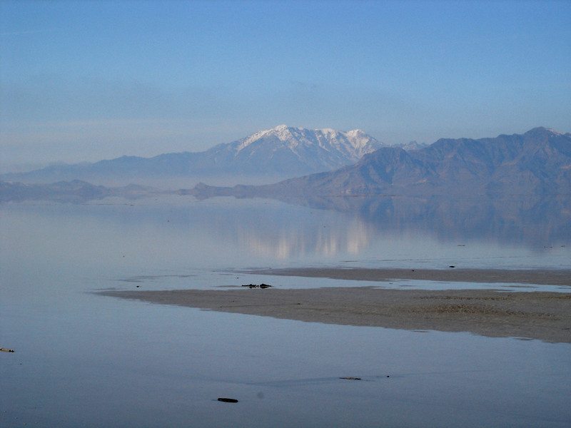 Crossing the Great Salt Lake