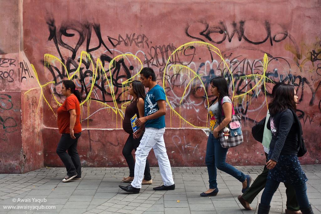 Street Scene from Texcoco, Mexico