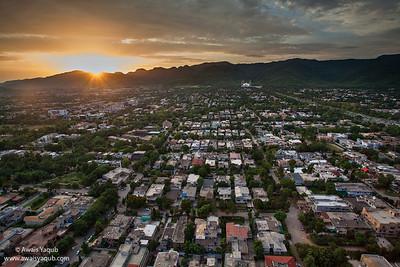 Islamabad from roof top  of Centaurus