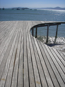 Dock in Florianopolis