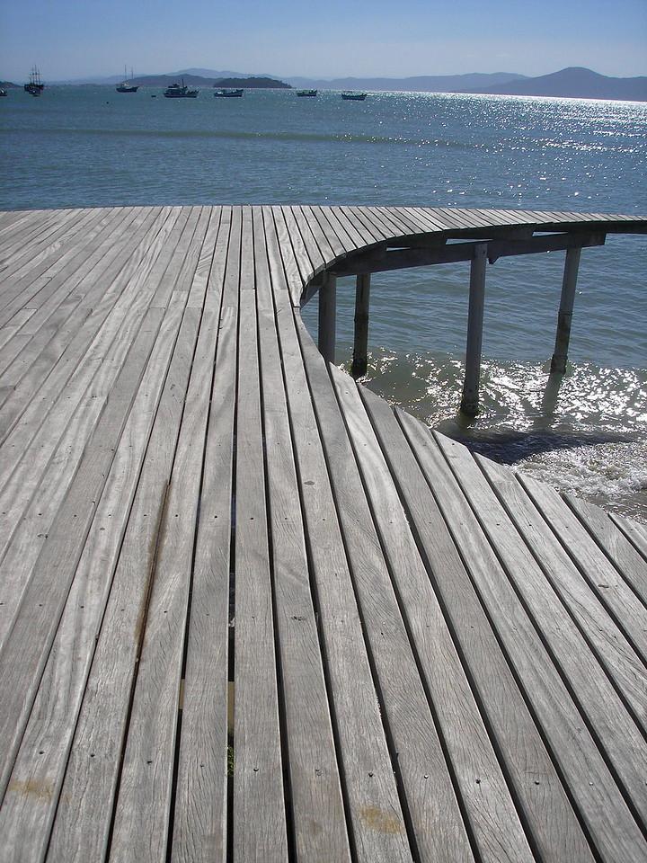 Dock in Florianopolis