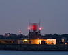 Radar installation at Logan Airport. One minute exposure.