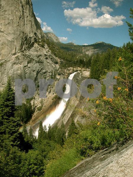 Nevada Falls- Yosemite July 2005