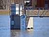 Red River Flood Gauge<br /> June, 2004<br /> Fargo ND