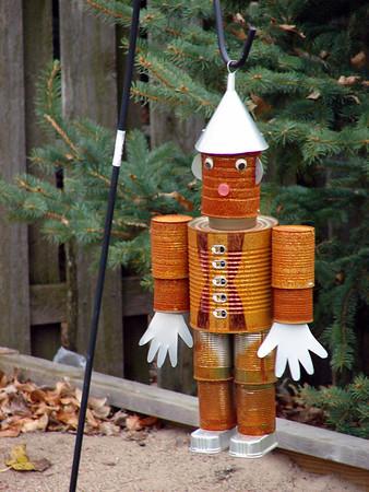 The Tin man<br /> Friend's back yard<br /> Fargo ND