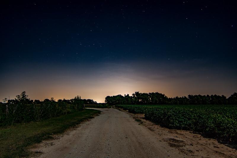 Ag Under the Night Sky