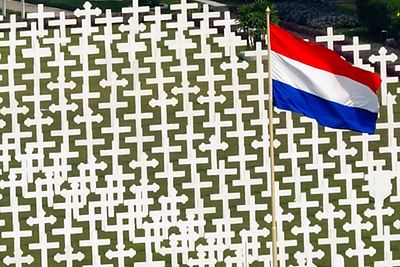 Dutch World War II War Graves, Jakarta, Indonesia, September 2008.