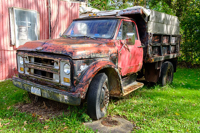 Truck at 1393 East Avenue, Akron, Ohio
