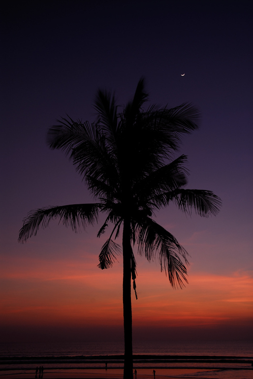 Balinese Sunset, Legian Beach, Bali.