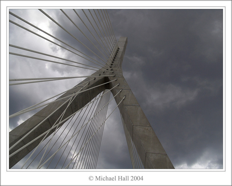 """The Leonard P. Zakim Bunker Hill Bridge"""
