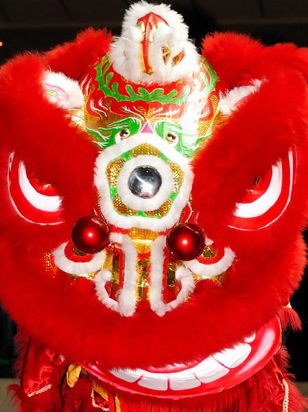 Lion Dance, Chinese New Year, Jakarta, 09Feb08.